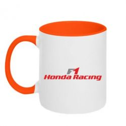 Кружка двухцветная 320ml Honda F1 Racing