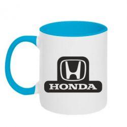 Кружка двухцветная Honda Stik - FatLine