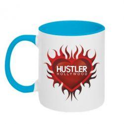 Кружка двухцветная Hustler Hollywood - FatLine