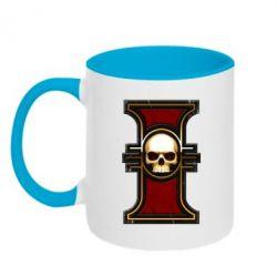 Кружка двухцветная инквизиция warhammer - FatLine