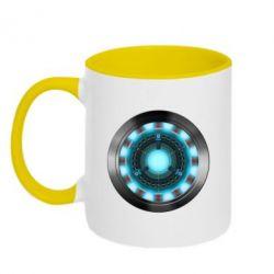 Кружка двухцветная Iron Man Device - FatLine