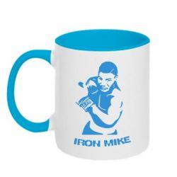 Кружка двухцветная Iron Mike - FatLine