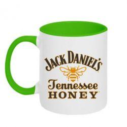 Кружка двоколірна 320ml Jack Daniel's Tennessee Honey