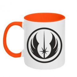 Кружка двухцветная Jedi Order - FatLine