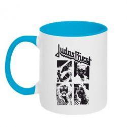 Кружка двухцветная Judas Priest - FatLine