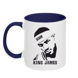 Кружка двухцветная King James - FatLine