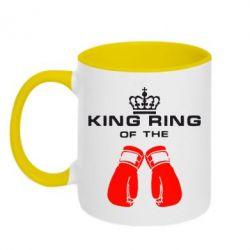 Кружка двухцветная King Ring - FatLine