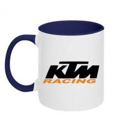 Кружка двухцветная KTM Racing - FatLine