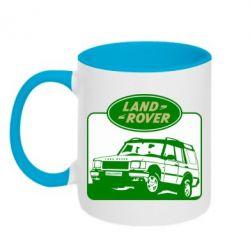 Кружка двухцветная Land Rover - FatLine