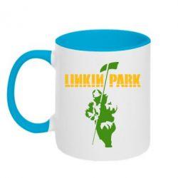 Кружка двухцветная Linkin Park Album - FatLine