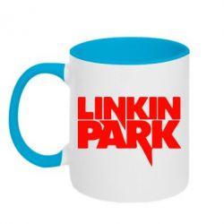 Кружка двухцветная Линкин Парк - FatLine