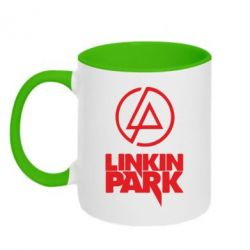 Кружка двухцветная Linkin Park - FatLine