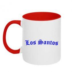 Кружка двухцветная Los Santos - FatLine