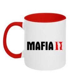 Кружка двоколірна 320ml Mafia 2