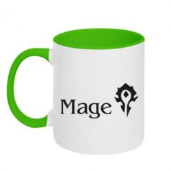 Кружка двоколірна 320ml Mage World of Warcraft