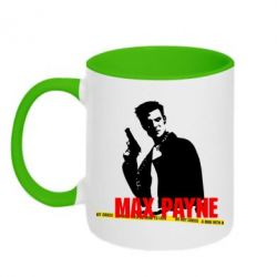 Кружка двухцветная Max Payne - FatLine
