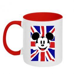 Кружка двухцветная Mickey Swag - FatLine