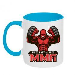 Кружка двухцветная MMA Fighter 2 - FatLine