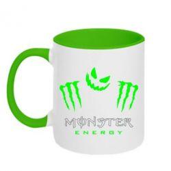 Кружка двухцветная Monster Energy Halloween - FatLine