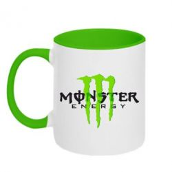 Кружка двухцветная Monter Energy Classic - FatLine