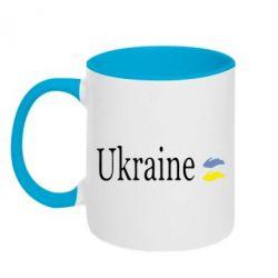 Кружка двухцветная My Ukraine - FatLine