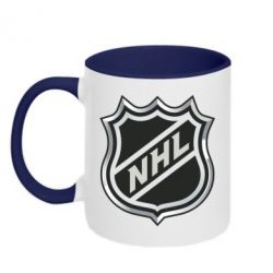 Кружка двухцветная National Hockey League - FatLine