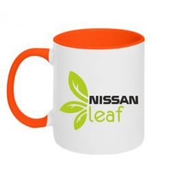 Кружка двухцветная Nissa Leaf - FatLine