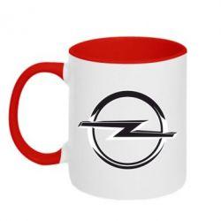 Кружка двухцветная Opel Small - FatLine