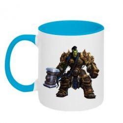 Кружка двухцветная Orc