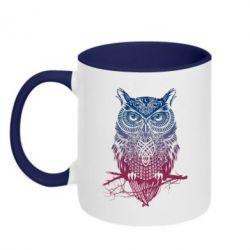 Кружка двухцветная Owl Art - FatLine