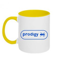 Кружка двухцветная Prodigy Logo - FatLine