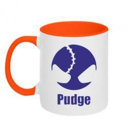 Кружка двухцветная Pudge - FatLine