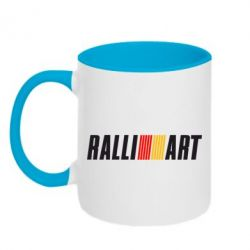 Кружка двухцветная Ralli Art Small - FatLine