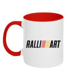 Кружка двухцветная Ralli Art - FatLine