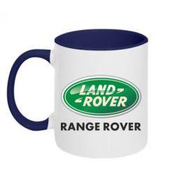 Кружка двухцветная Range Rover - FatLine