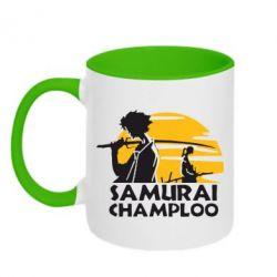 Кружка двухцветная Samurai Champloo - FatLine