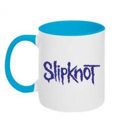 Кружка двухцветная Slipknot - FatLine