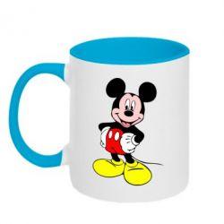 Кружка двухцветная Сool Mickey Mouse - FatLine