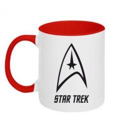 Кружка двоколірна 320ml Star Trek