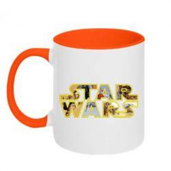 Кружка двухцветная Star Wars 3D - FatLine