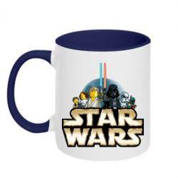 Кружка двухцветная Star Wars Lego - FatLine
