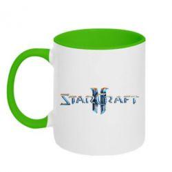 Кружка двухцветная StarCraft 2 - FatLine