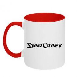Кружка двухцветная StarCraft - FatLine
