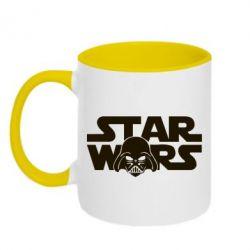 Кружка двухцветная StarWars Logo - FatLine