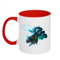 Кружка двухцветная Storm Spirit
