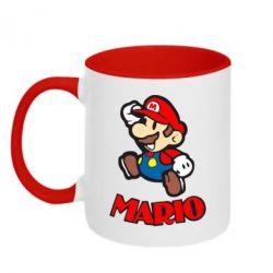 Кружка двухцветная Супер Марио
