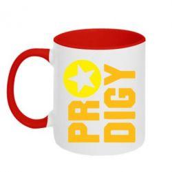 Кружка двухцветная 320ml The Prodigy Star