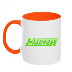 Кружка двоколірна 320ml The Ultimate Fighter