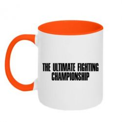 Кружка двухцветная The Ultimate Fighting Championship - FatLine