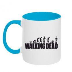 Кружка двухцветная The Walking Dead Evolution - FatLine